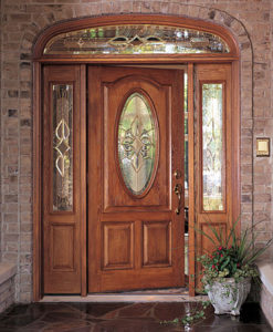 fiberglass doors are ideal for many door replacement projects due to the many decorative designs finish options and entryway